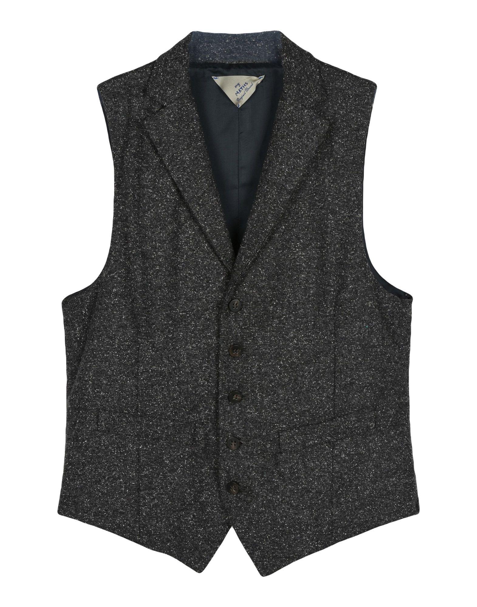 MYTHS Suit Vest in Lead