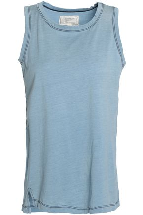 CURRENT/ELLIOTT Cotton-jersey tank