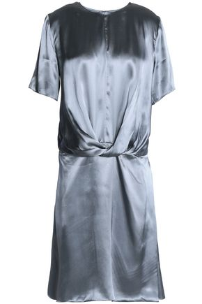 NINA RICCI Draped satin dress