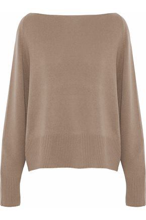WOMAN CASHMERE SWEATER CAMEL