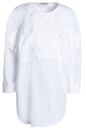 NINA RICCI Cotton-poplin tunic