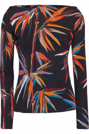 EMILIO PUCCI Printed jersey blouse