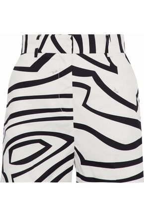 EMILIO PUCCI Printed cotton shorts