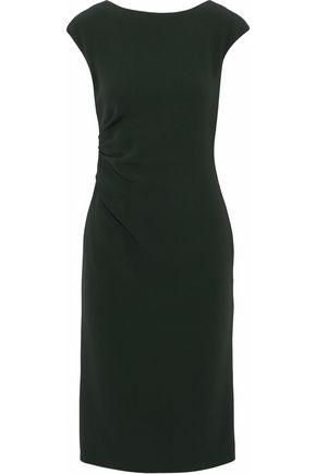 JIL SANDER Ruched crepe dress