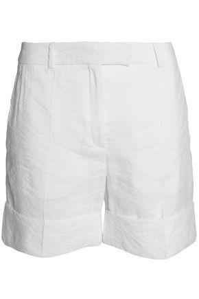 NINA RICCI Wrinkled crepe shorts