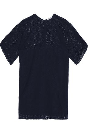 NINA RICCI Broderie anglaise silk dress