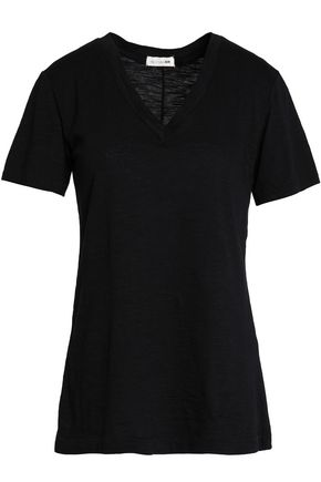 RAG & BONE The Vee slub cotton and modal-blend T-shirt