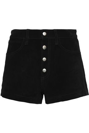 RAG & BONE/JEAN Suede mini shorts