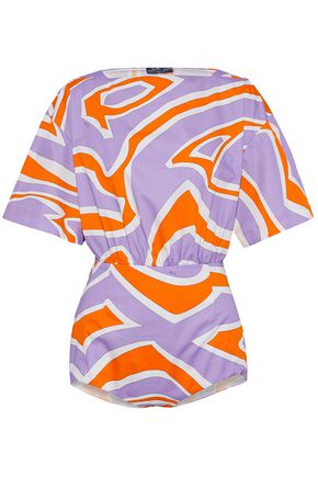 EMILIO PUCCI Printed cotton top
