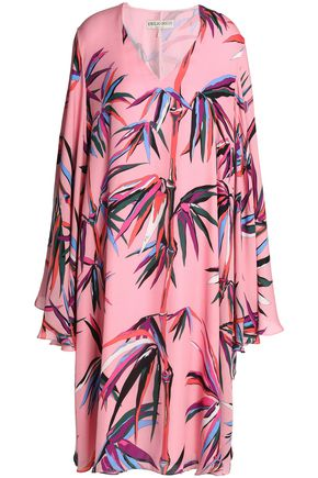 EMILIO PUCCI Printed silk crepe de chine dress