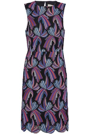 EMILIO PUCCI Cotton-blend guipure lace dress