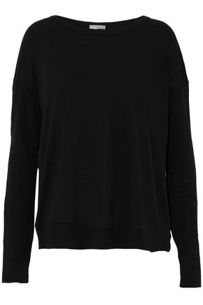 VINCE. Slub cotton-jersey top