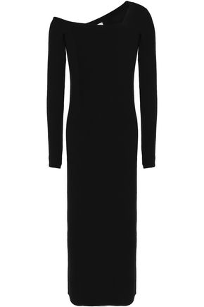 A.L.C. Asymmetrical wool midi dress