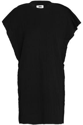 MM6 MAISON MARGIELA Draped cotton mini dress