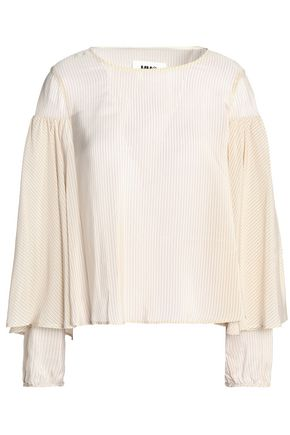 MM6 MAISON MARGIELA Striped satin top