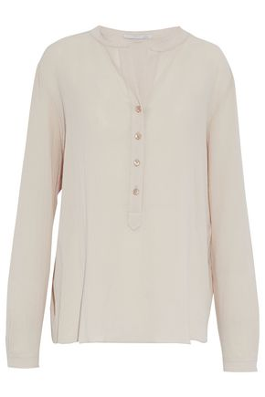 STELLA McCARTNEY Cotton-gauze top