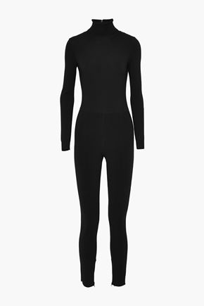 VALENTINO Stretch-knit turtleneck jumpsuit