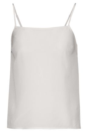 HALSTON HERITAGE Silk-satin top