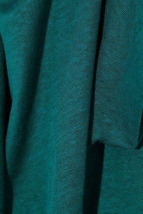 BALMAIN Slub stretch linen-blend jersey T-shirt