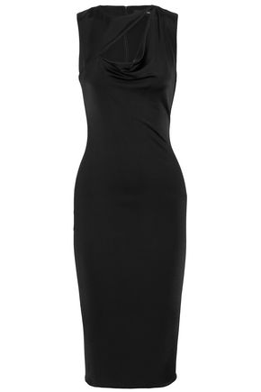 CUSHNIE ET OCHS Cutout ponte dress