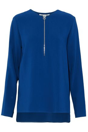 STELLA McCARTNEY Stretch-crepe top