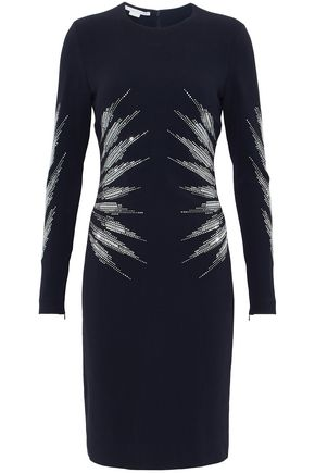 STELLA McCARTNEY Studded crepe dress
