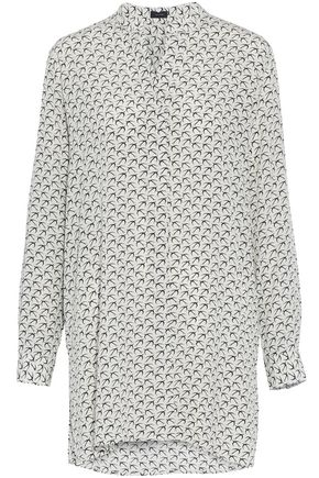 JOSEPH New Dara printed silk tunic