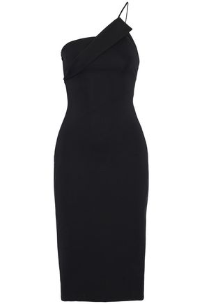 CUSHNIE ET OCHS One-shoulder cady dress