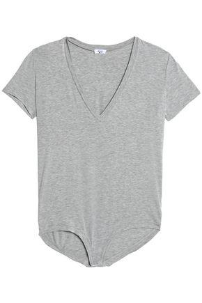ALIX Mélange stretch-modal jersey bodysuit
