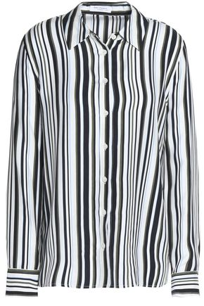 EQUIPMENT FEMME Striped silk top