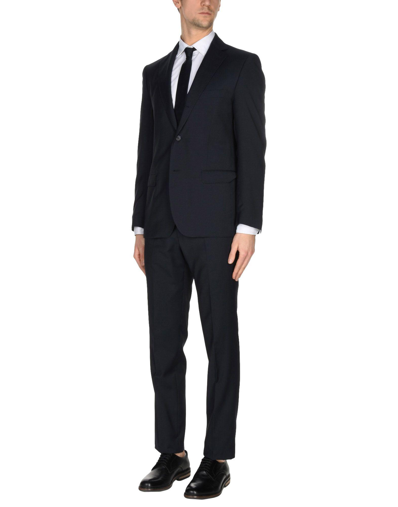 MONTEZEMOLO Suits in Black