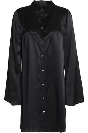 KATE MOSS EQUIPMENT Silk-satin mini dress
