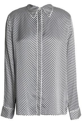 KATE MOSS EQUIPMENT Printed silk top