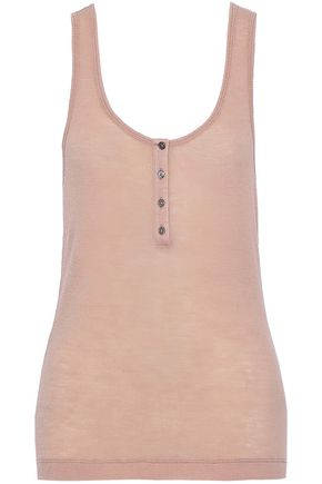 T by ALEXANDER WANG Ribbed wool tank