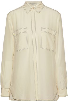 STELLA McCARTNEY Silk crepe de chine shirt