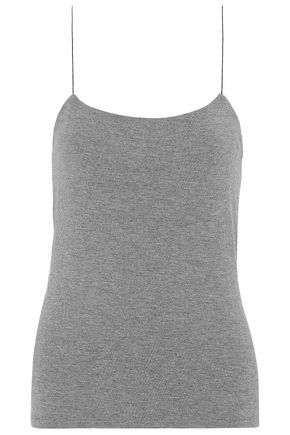 T by ALEXANDER WANG Cutout stretch-modal jersey top