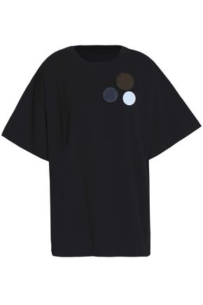MM6 MAISON MARGIELA Appliqué cotton-jersey top