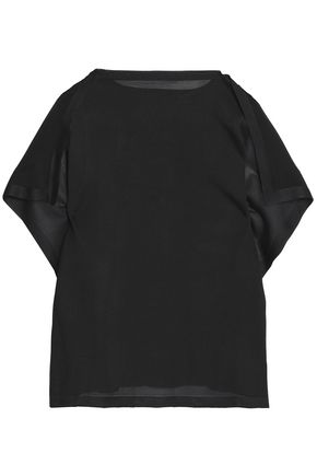 MM6 MAISON MARGIELA Draped jersey top