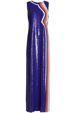 EMILIO PUCCI Sequined silk gown