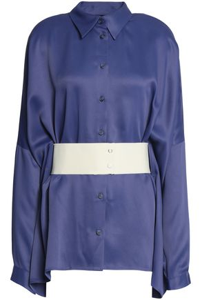 MM6 MAISON MARGIELA Belted crepe top