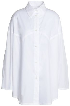 MM6 MAISON MARGIELA Cotton-poplin top