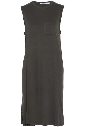 T by ALEXANDER WANG Stretch-jersey dress