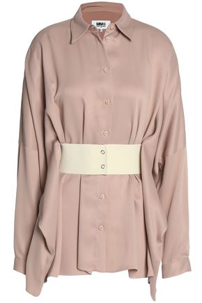 MM6 MAISON MARGIELA Belted satin top