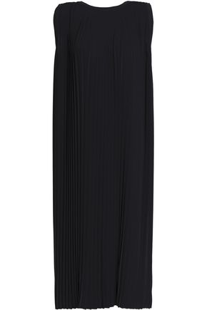MM6 MAISON MARGIELA Pleated crepe midi dress