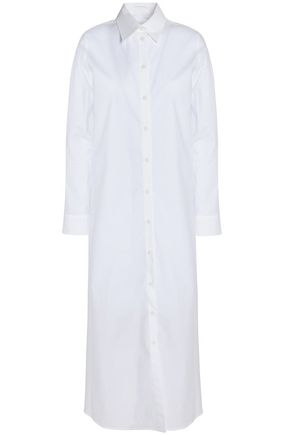 MM6 MAISON MARGIELA Cotton-poplin maxi dress