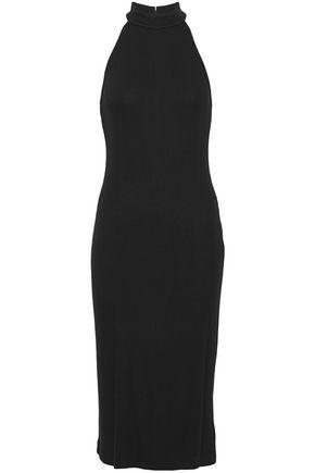 L'AGENCE Stretch ribbed-knit dress