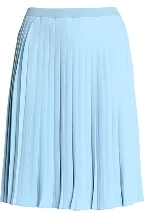 MM6 MAISON MARGIELA Pleated crepe skirt