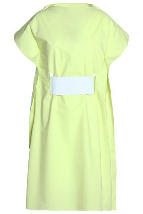 MM6 MAISON MARGIELA Layered cotton-poplin shirt dress