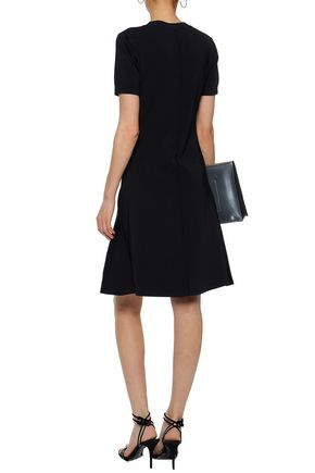 Fluted Ribbed Knit Dress by T By Alexander Wang