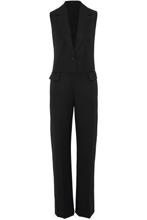 STELLA McCARTNEY Frayed wool jumpsuit